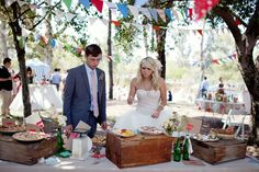 A Handmade Vintage Circus Wedding: Ashley + Ricky – Part 2