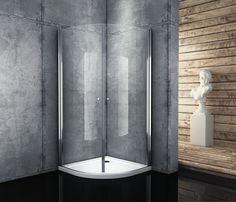 Kabina prysznicowa półokrągła 90x90cm Verona Atrium QF92