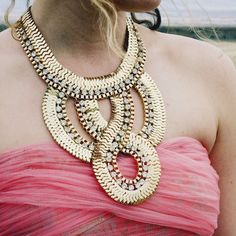 Spun Gold Necklace, Women's Sweet Country Inspired Jewelry