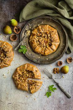 Diós-fügés galette - DESSZERT SZOBA Hummus, Quiche, Ethnic Recipes, Dios, Quiches