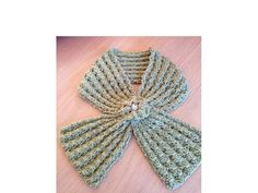 (6) Name: 'Knitting : Cinched Scarf Scarflette PDF 12-090