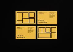 1326 best business cards images on pinterest in 2018 brand moaa architects by inhouse new zealand branding businesscards design reheart Gallery