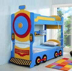 Childrens Bunk Beds, Bunk Beds Boys, Creative Beds, Ikea Kura Bed, Room Partition Designs, Diy Bed, Kids Furniture, Boy Room, Kids Bedroom