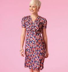 Patron Mc Call's 7116 McCall's 7116 Robes pour femme, facile, tailles 36 à 44 et…