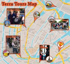 Terra Tours Map Amsterdam