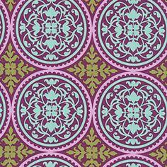 Joel Dewberry Aviary 2 Scrollwork in Lilac