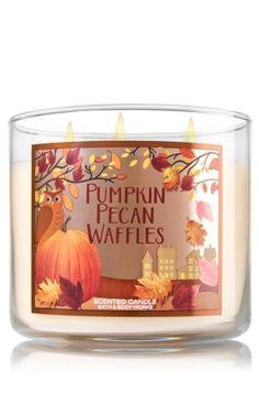 Pumpkin Pecan Waffles 3-Wick Candle - Home Fragrance 1037181 - Bath & Body…