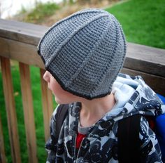 great boy hat pattern!