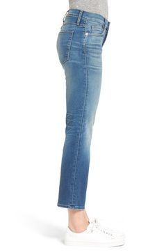 Main Image - Current/Elliott The Kick Ankle Flare Jeans