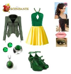 """Darcy Tremaine - Daughter of Drizella Tremaine"" by maxinepotter ❤ liked on Polyvore featuring Philipp Plein, Vivienne Westwood, Fantasy Jewelry Box, Lime Crime, disney, OC and Descendants"