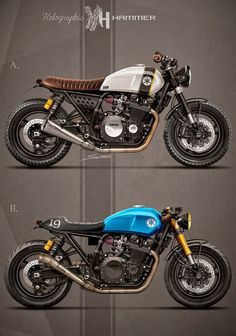 Cafè Racer Concepts - Yamaha XJR 1300 1998 by Holographic Hammer