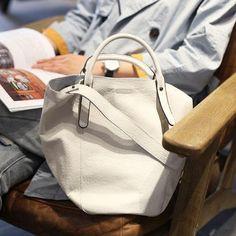 155c02db8e46 Handmade Genuine Leather Tote Handbag Shoulder Crossbody Bag Purse Clutch  For Women Womens Tote Bags