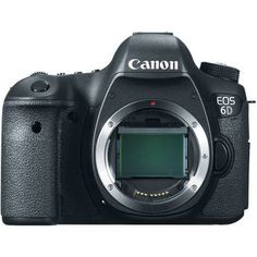 Canon EOS 6D Digital Camera. $1900.00 body only. How is it that this has built in wifi and GPS but the Mark III does not? Seriously.