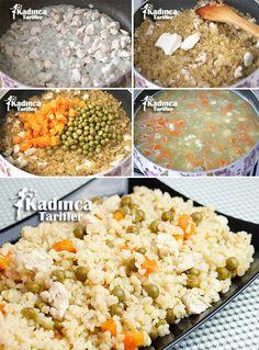 Tavuklu Ali Pasha Pilavi Recipe, How to Zesty Italian Chicken, Italian Chicken Dishes, Italian Soup, Chicken Rice Recipes, Meat Recipes, Dinner Recipes, Turkish Recipes, Ethnic Recipes, Pasta Types