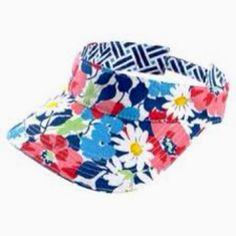 My new visor from the.Grandgirls!