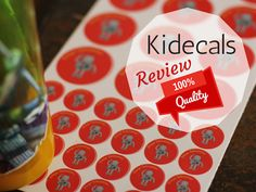 When I was contacted by Kidecals for their product review after reading about their website and product I was really excited to work on this review, because this product was one of those that you really need to try it yourself to see if its real what they advertise for.  First let me explain you what is Kidecals.