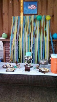 Cake table (hard work)