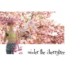 under the cherrytree by luyustyle on Polyvore
