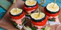 Low Carb Mini Zucchini Burger