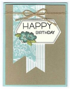 Scrappin' and Stampin' in GJ: cards Making Greeting Cards, Greeting Cards Handmade, Paper Cards, Diy Cards, Stampin Up Cards, Altenew Cards, Paper Pumpkin, Card Sketches, Card Tags