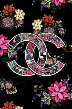 Gucci Wallpaper Iphone, Chanel Wallpapers, Iphone Background Wallpaper, Pretty Wallpapers, Versace Wallpaper, Art Floral, Floral Prints, Apple Watch Wallpaper, Fashion Wall Art