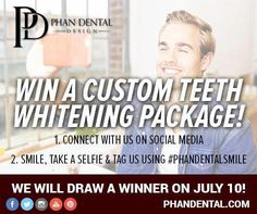 HEY YOU! Send us a selfie of you smiling for you chance to WIN a custom #Teethwhitening package! #PhanDental #yeg