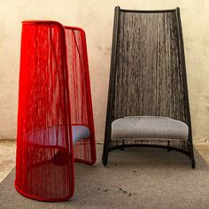 Husk chair by Marc Thorpe for Moroso the outdoor collection M'Afrique, manufactured in Dakar, Senegal