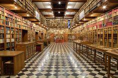 Peralada Private Library, Catalonia, Spain / Biblioteca Privada de Peralada, Catalunya, España