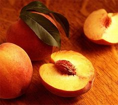 Baking is a fun activity for a cold winter day. These recipes for peach crisp and peach crumble will not only warm up your kitchen, but give you a delicious dessert for tonight's dinner. We've also listed a few baking. Peach Crisp, Ripe Peach, Peach Smoothie Recipes, Peach Wine, Peach Crumble, State Foods, Just Peachy, Scented Wax, Fresh Fruit