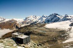 Hornlihutte (Matterhorn base camp, Zermatt, Switzerland)  #hiking #outdoorlife