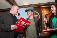 Heart Radio's Spence & Angela interview The Wanted's Max at the Chester Rocks Launch Party!