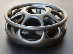 Printed in Satin Black Ceramics