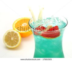 Tropical Alcoholic Drink Made of Rum, Pineapple Juice ...