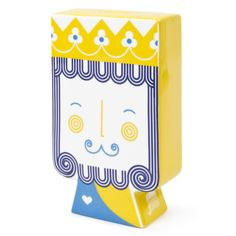 Modern Home Accessories | Junior King Queen Piggy Bank | Jonathan Adler