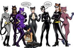 Catwomen 570x378 SR Geek Picks: Iconic Movie and TV Moments in GTA V, Meth Damon, Catwomen & More