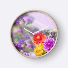 Multicolored dahlias by kamparin