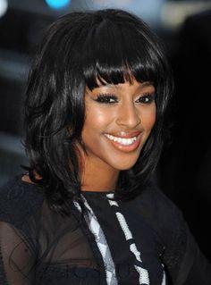Short Black Hairstyles With Bangs China Bang Hairdos  African American Hairstyles With Bangs  Hair