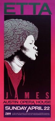 Jagmo - Nels Jacobson Etta James Poster #music