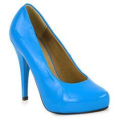 Damen Pumps Plateau Pumps - Blau - Falaise von  in dodgerblue -Persenningblau für 21,90€