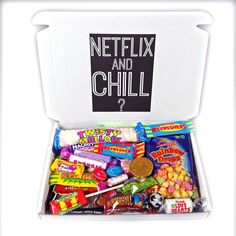 Amazon.com : The Netflix And Chill 30 Piece Retro Candy Box! - By Moreton Gifts : Grocery & Gourmet Food
