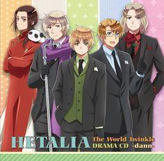 HETALIA THE WORLD TWINKLE DRAMA CD -DANN-