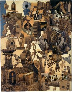 Hannah Hoch - Cut with the Kitchen Knife, 1919