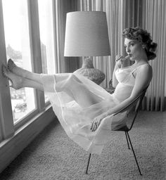 Allison Hayes c. 1950s - Totally #secretsinlace
