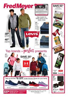 Fred Meyer Apparel Ad March 12 18 2017