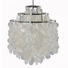 "Verner Panton ""Shell lamp"""