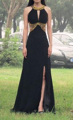 Sexy black prom dresses,long prom dresses,prom dress,black long evening dress,sexy black prom dress