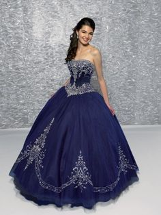 2012 Style Ball-Gown Strapless Lace Sleeveless Floor-length Tulle Prom Dress / Evening Dress