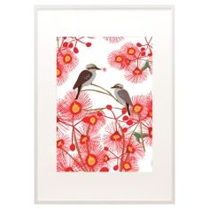 Bloom Kookaburra Print