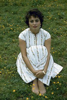 Sophia Loren Rome, Italy, 1957