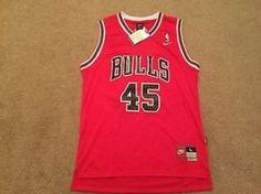 #Wichita KS Merchandise / #Nike #MichaelJordan #ChicagoBulls #45 Comeback #Jersey, Size Large, NWT! - Geebo
